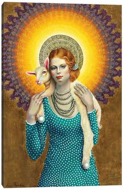 Saint Girl Canvas Art Print