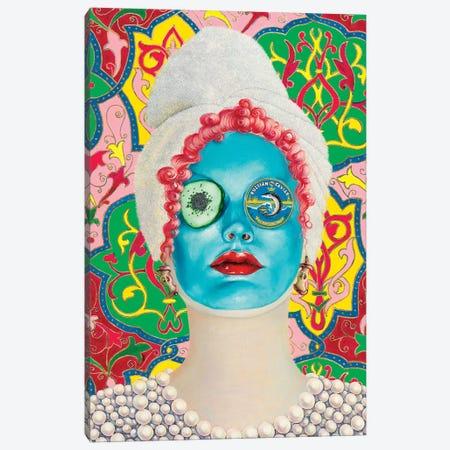 Beauty Mask With Russian Caviar Canvas Print #LPF8} by Liva Pakalne Fanelli Canvas Art Print