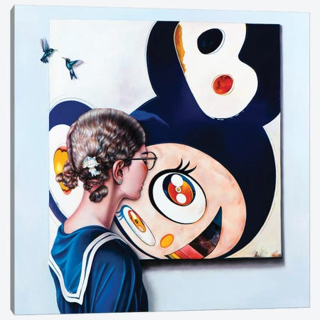 Murakami Art Lover Canvas Print #LPF90} by Liva Pakalne Fanelli Canvas Artwork