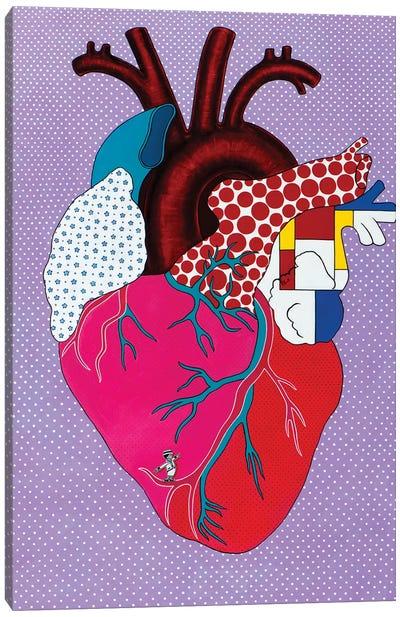 Pop HeArt Canvas Art Print