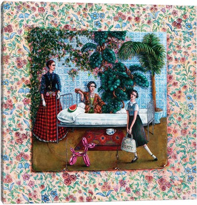 Sanatorium Canvas Art Print