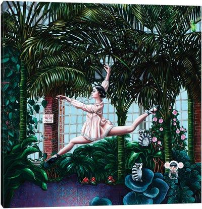 Ballet Dancer Canvas Art Print