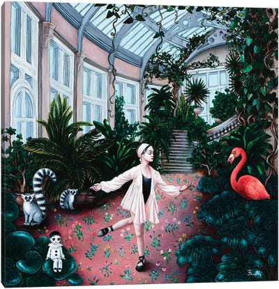 Winter Garden Canvas Art Print