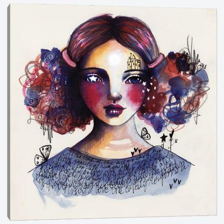 Indigo Child Canvas Print #LPR100} by Tamara Laporte Canvas Art Print