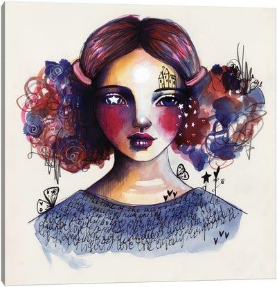 Indigo Child Canvas Art Print