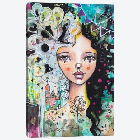 Into The Mystery Canvas Print #LPR104} by Tamara Laporte Canvas Wall Art