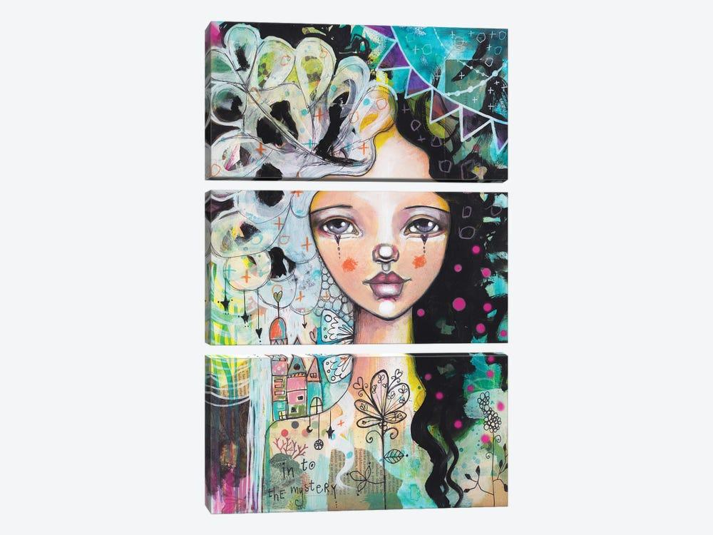 Into The Mystery by Tamara Laporte 3-piece Canvas Art Print