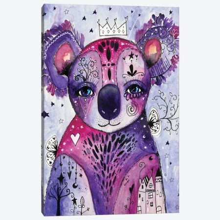 Koala Love Canvas Print #LPR107} by Tamara Laporte Canvas Artwork
