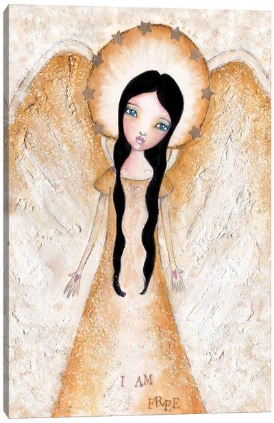 Angel Canvas Art Print