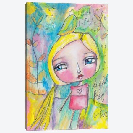 Light Free She Canvas Print #LPR114} by Tamara Laporte Canvas Art Print