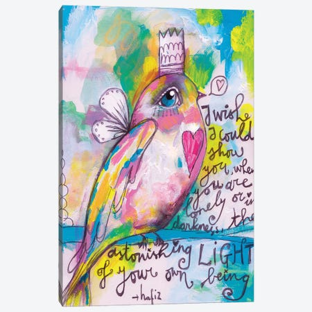 Little Bird Canvas Print #LPR116} by Tamara Laporte Canvas Art Print