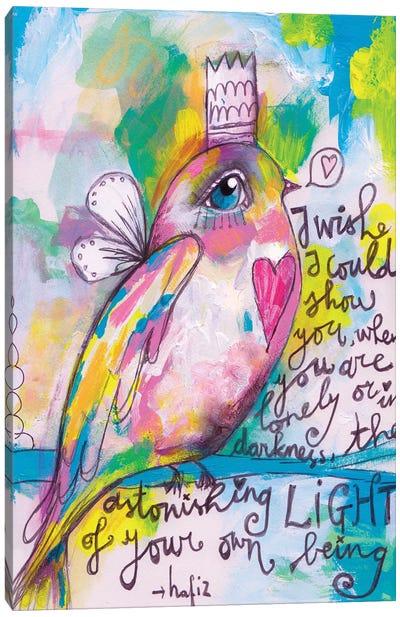 Little Bird Canvas Art Print