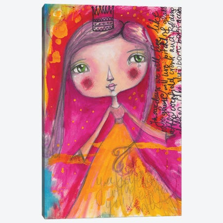 Little Princess Canvas Print #LPR117} by Tamara Laporte Canvas Print