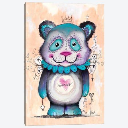 Love Bear Canvas Print #LPR119} by Tamara Laporte Canvas Wall Art