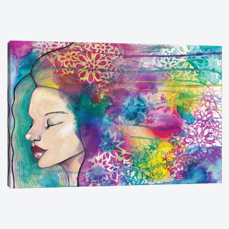 Meditation Canvas Print #LPR125} by Tamara Laporte Canvas Art