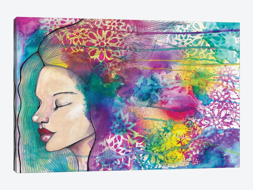 Meditation by Tamara Laporte 1-piece Canvas Wall Art