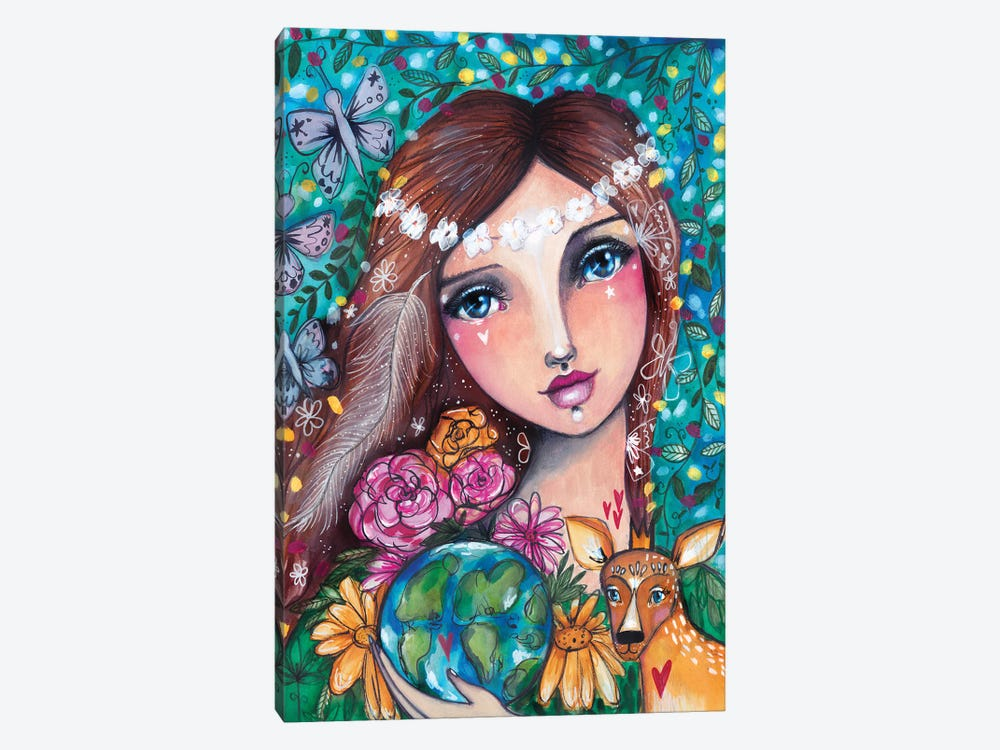 Mother Nature by Tamara Laporte 1-piece Canvas Wall Art