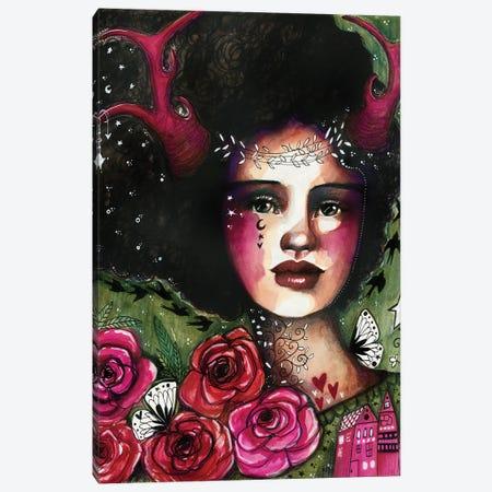 Nature Nymph Canvas Print #LPR133} by Tamara Laporte Canvas Art