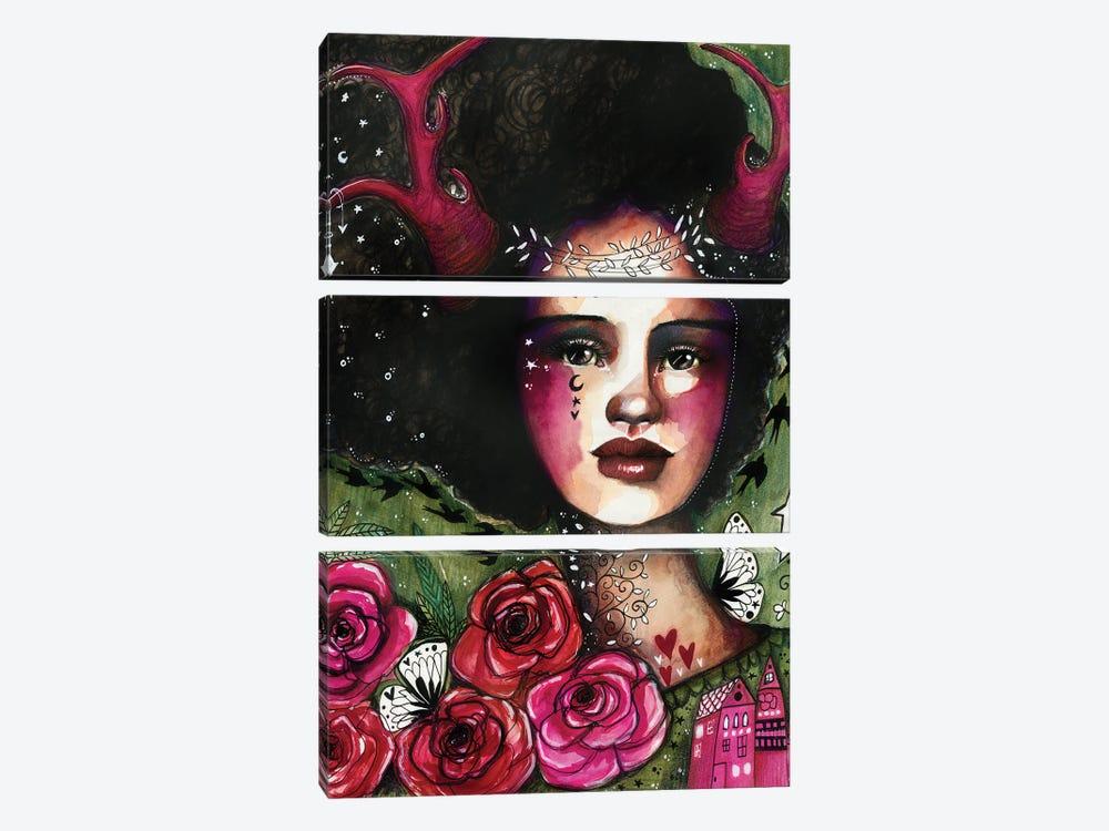Nature Nymph by Tamara Laporte 3-piece Art Print