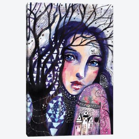 Not Afraid Canvas Print #LPR136} by Tamara Laporte Art Print