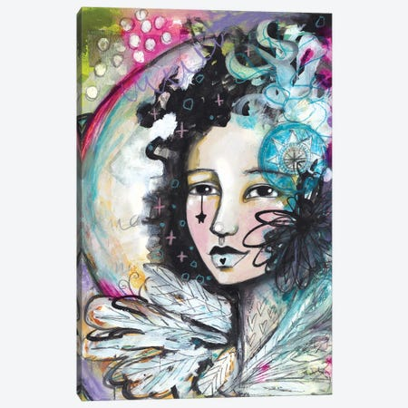 Out Of Magic She Rises Canvas Print #LPR139} by Tamara Laporte Canvas Art