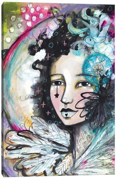 Out Of Magic She Rises Canvas Art Print