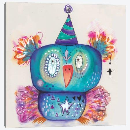 Party Bird Canvas Print #LPR141} by Tamara Laporte Canvas Print