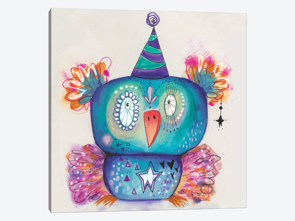 Party Bird by Tamara Laporte 1-piece Canvas Art