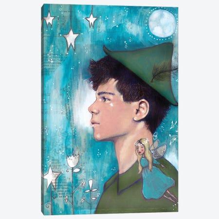 Peter Pan Canvas Print #LPR143} by Tamara Laporte Canvas Art Print