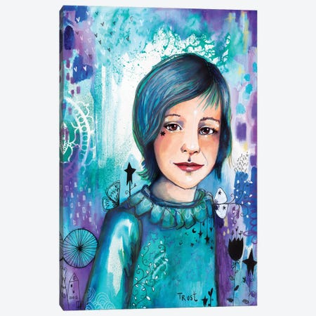 Prince Elliot Canvas Print #LPR145} by Tamara Laporte Canvas Wall Art