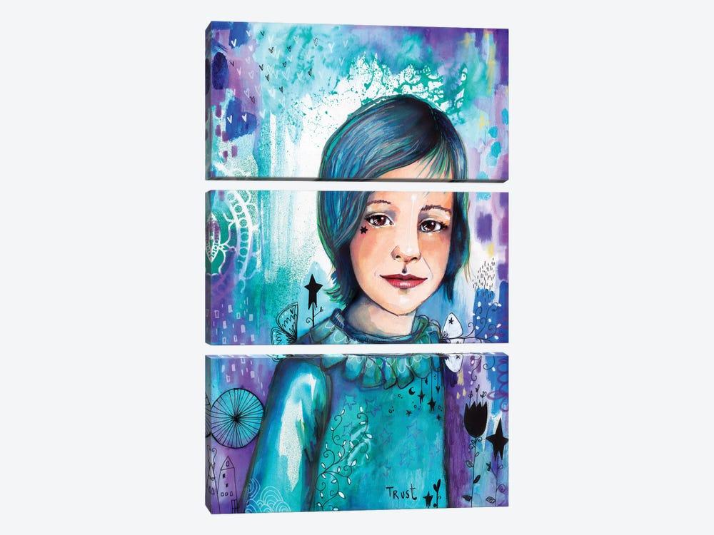 Prince Elliot by Tamara Laporte 3-piece Canvas Art