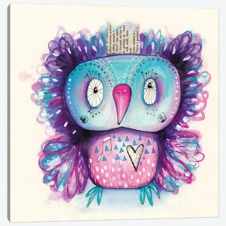 Purple Qb Canvas Print #LPR149} by Tamara Laporte Canvas Print
