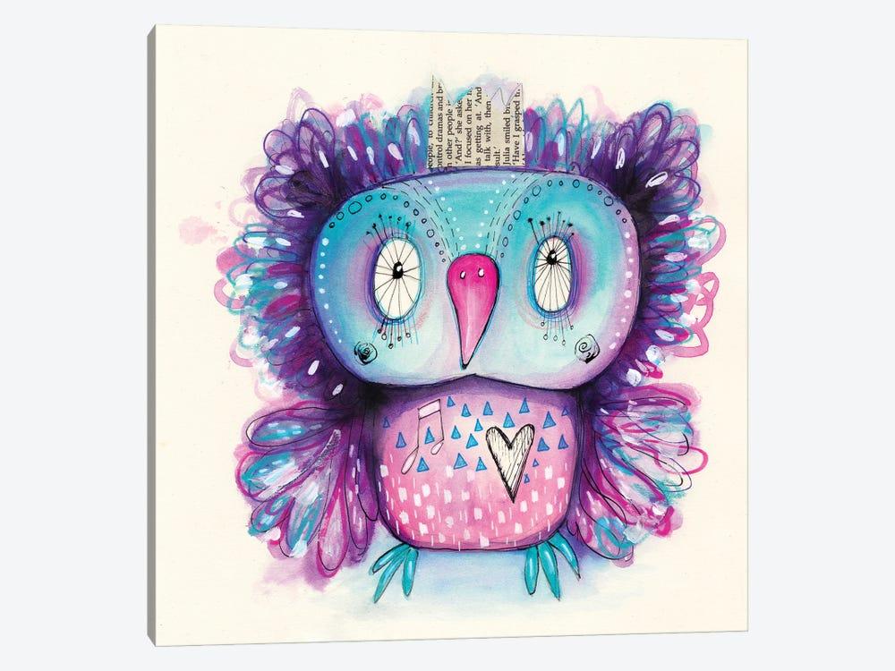 Purple Qb by Tamara Laporte 1-piece Canvas Art