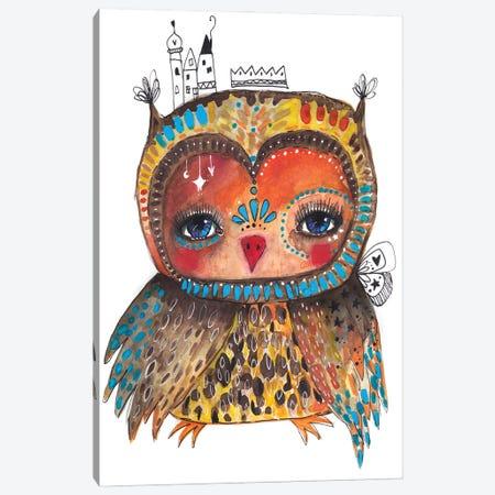 Anna Jesta Quirky Bird Canvas Print #LPR14} by Tamara Laporte Art Print