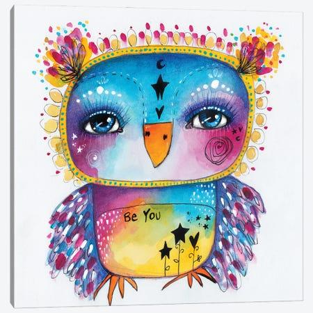 Qb-Be You II Canvas Print #LPR152} by Tamara Laporte Canvas Wall Art