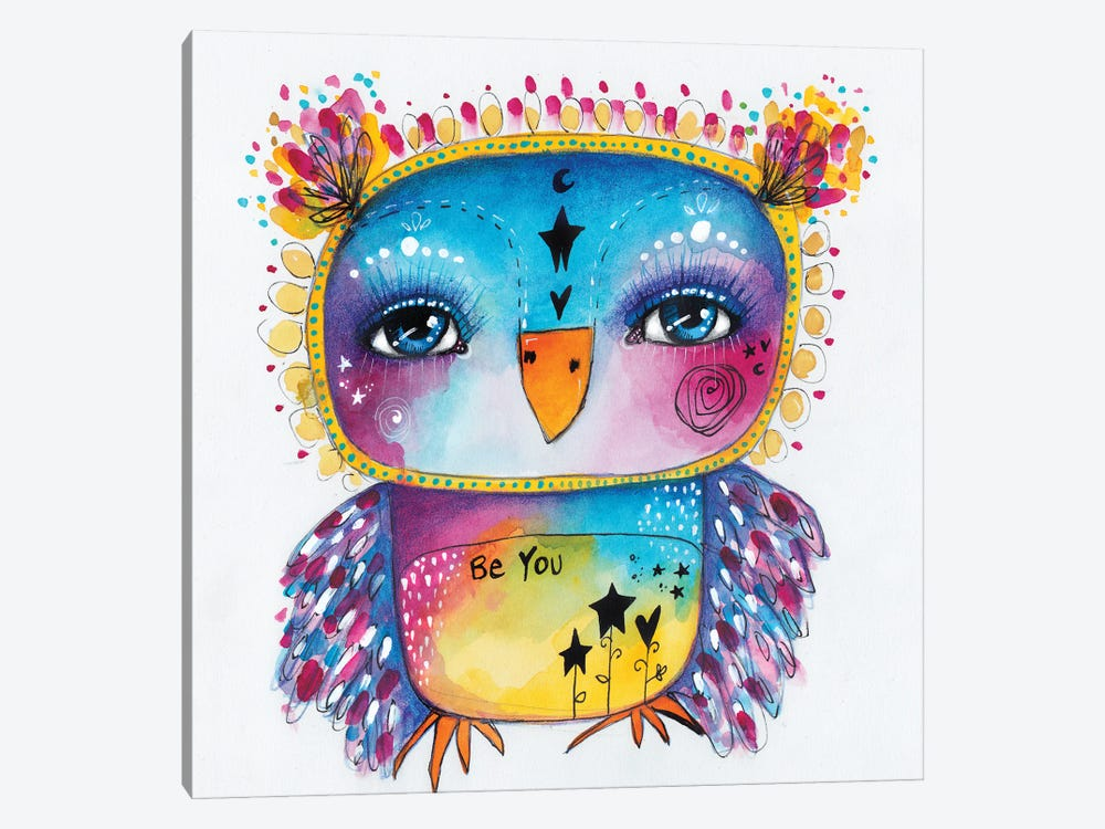 Qb-Be You II by Tamara Laporte 1-piece Canvas Wall Art