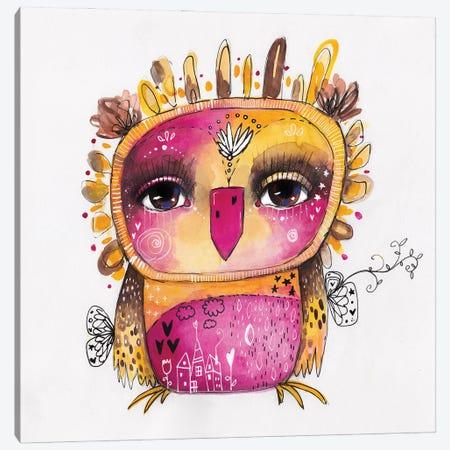 Qb Rosie Canvas Print #LPR154} by Tamara Laporte Art Print