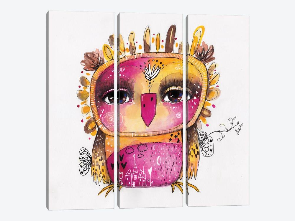 Qb Rosie by Tamara Laporte 3-piece Canvas Artwork