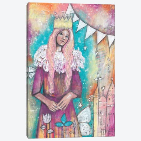 Queen Archetype Canvas Print #LPR155} by Tamara Laporte Art Print