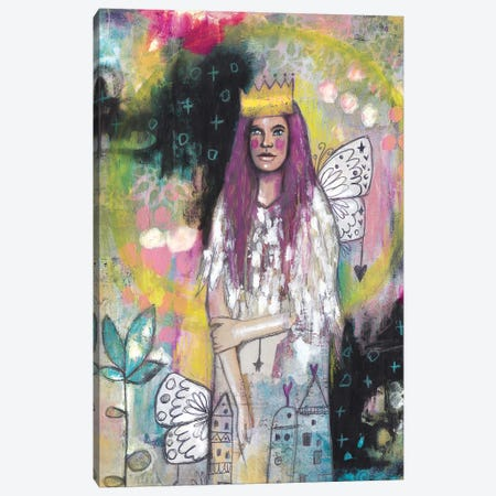 Queen Of Herself Canvas Print #LPR156} by Tamara Laporte Canvas Art Print