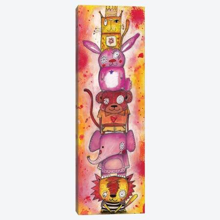 Quirky Animals Canvas Print #LPR157} by Tamara Laporte Canvas Print