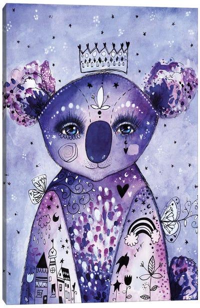 Quirky Koala Canvas Art Print