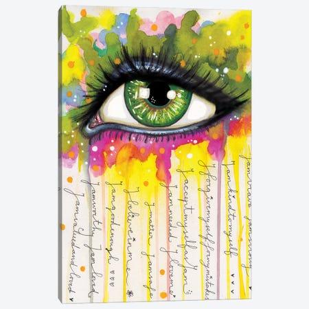 Sacred Eye Canvas Print #LPR170} by Tamara Laporte Canvas Wall Art