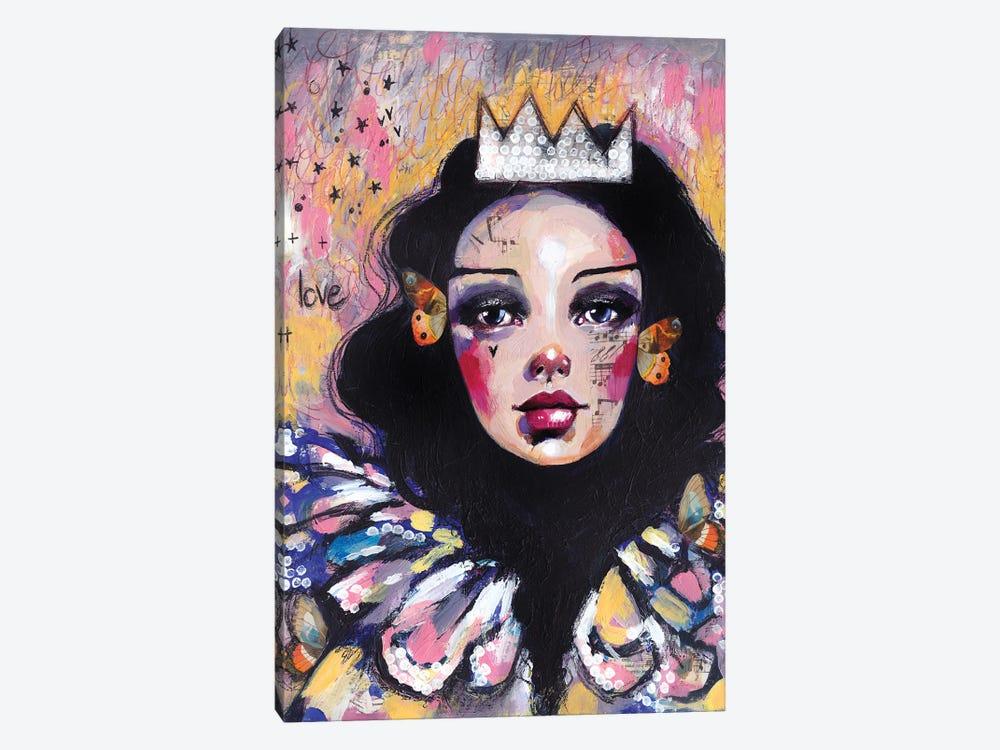 Sad Queen by Tamara Laporte 1-piece Canvas Art