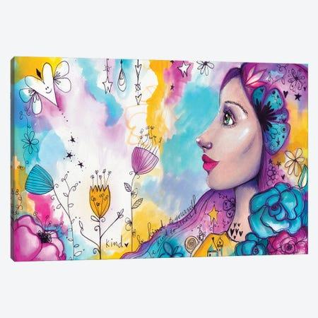 She Blooms III Canvas Print #LPR175} by Tamara Laporte Canvas Art Print