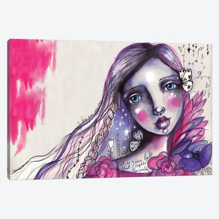 She Blooms IV Canvas Print #LPR176} by Tamara Laporte Art Print