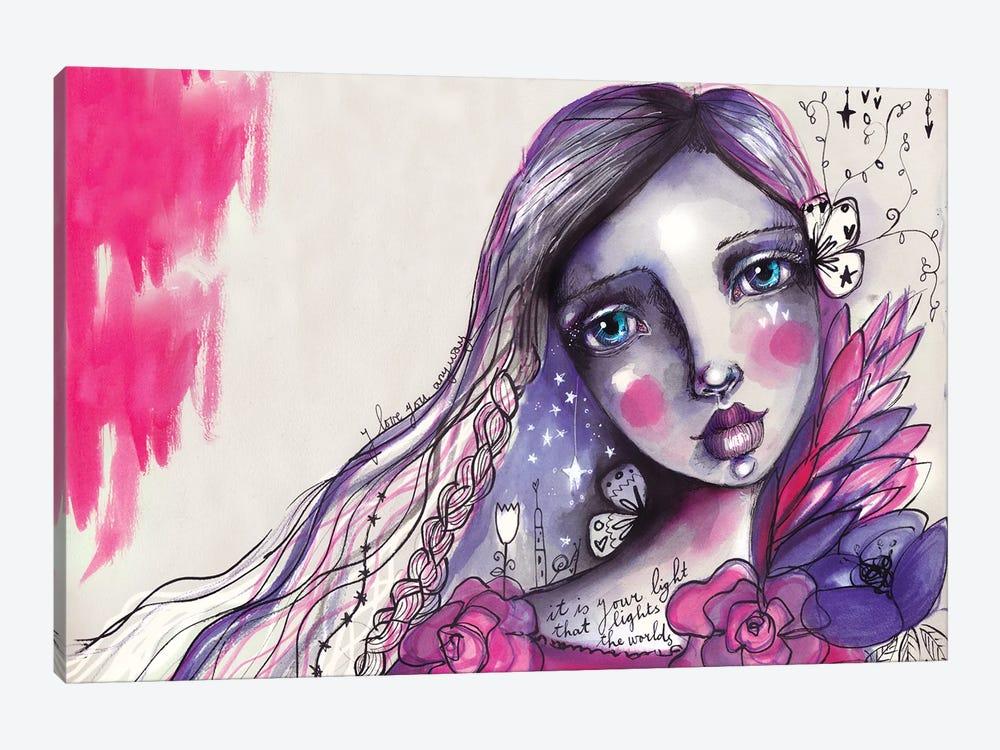 She Blooms IV by Tamara Laporte 1-piece Canvas Art