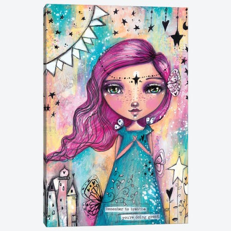 Art Fairy Canvas Print #LPR17} by Tamara Laporte Canvas Art Print