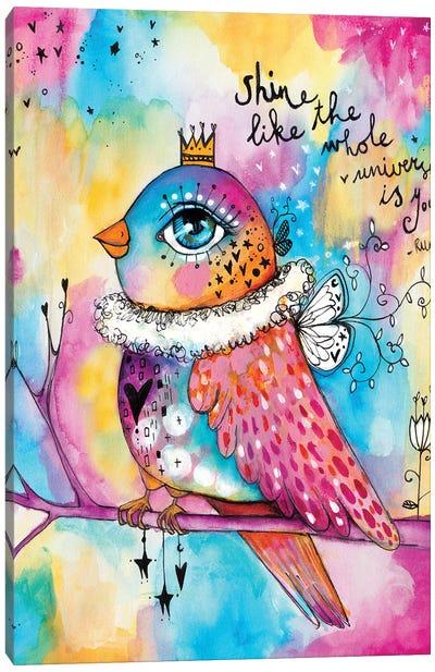 Shine Like The Universe Canvas Art Print