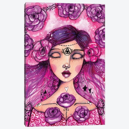Sleeping Beauty Canvas Print #LPR184} by Tamara Laporte Canvas Artwork